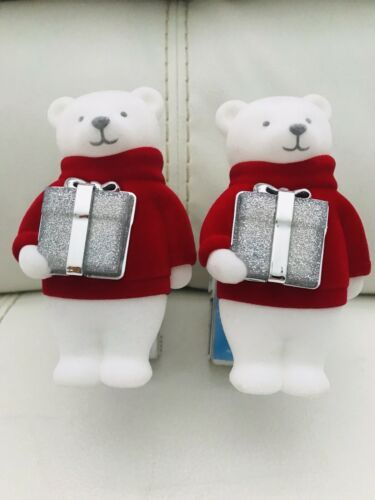 Primary image for 2x Bath & Body Work Bear With Present Nightlight   Wallflower Fragrance Plug In