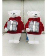 2x Bath & Body Work Bear With Present Nightlight   Wallflower Fragrance ... - $25.74