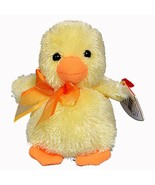Billingsly the Duckling Ty Basket Beanie Baby Easter Retired MWMT Collec... - $14.80