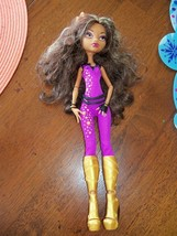 Monster High Clawdeen Wolf Doll Music Festival 2008 EUC - $26.70