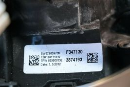 12-18 BMW F30 Sport Steering Wheel w/ Cruise BT Volume W/O Paddles -RED STITCH image 7