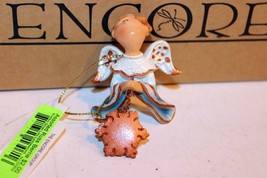 "Christmas Ornaments - WHOLESALE- Russ BERRIE-#6769 - 3 ANGELS- ""CONNOR""- New - $5.83"