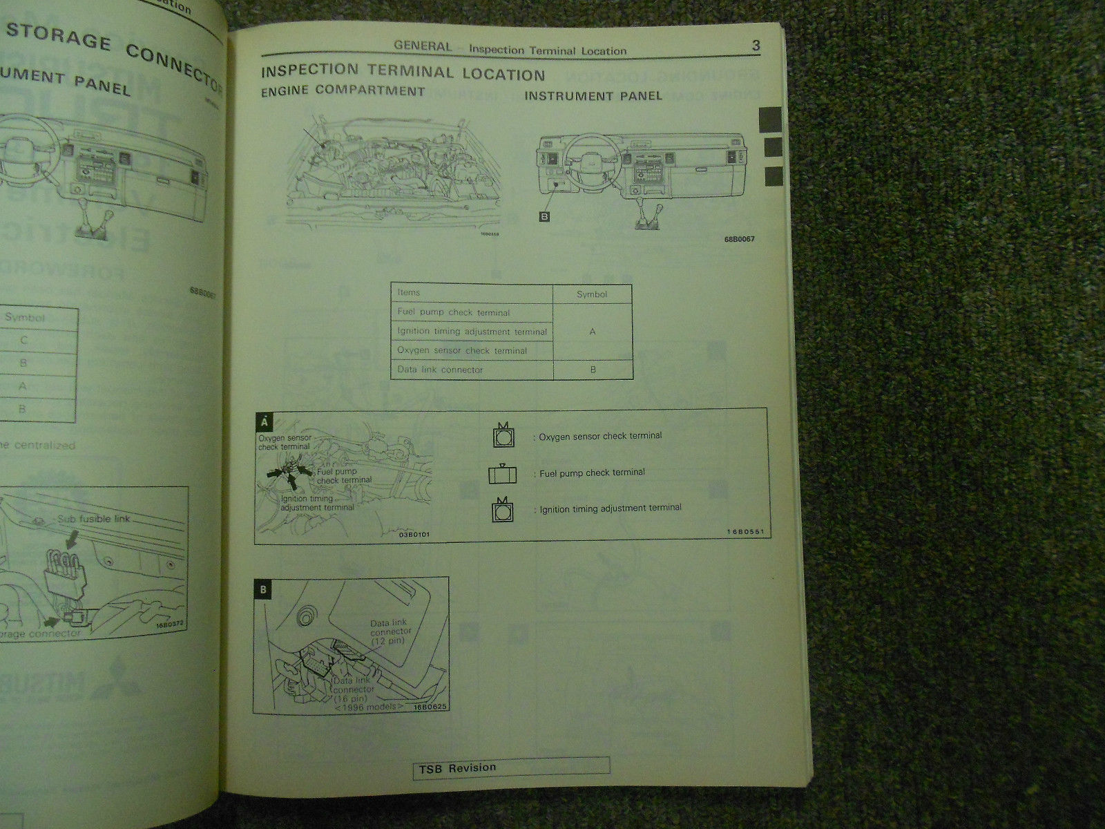 1992 1996 MITSUBISHI TRUCK Service Reoair Shop Manual VOLUME 2 FACTORY OEM 92 96 image 3