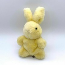 "Vintage GUND Yellow Bean Filled Push Bunny 1984/85 8"" - $17.77"