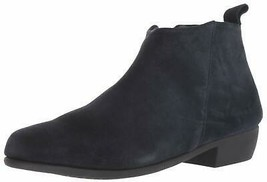 Aerosoles Women's Step It Up Ankle Boot 5 Navy Suede - $67.31