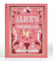 Fao Nero Alice's Adventures IN Wonderland Lewis Carroll Set Pin Segnalibri Nuovo