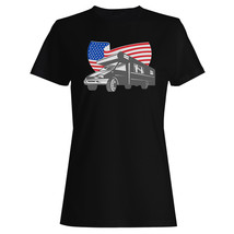 a4cd1b33409d Camper Van USA Flag Vintage Art Ladies T-shirt Tank Top vv38f -  10.79