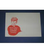 1953 ENVELOPE FOR THE LIONEL POCKET CATALOG - $9.99