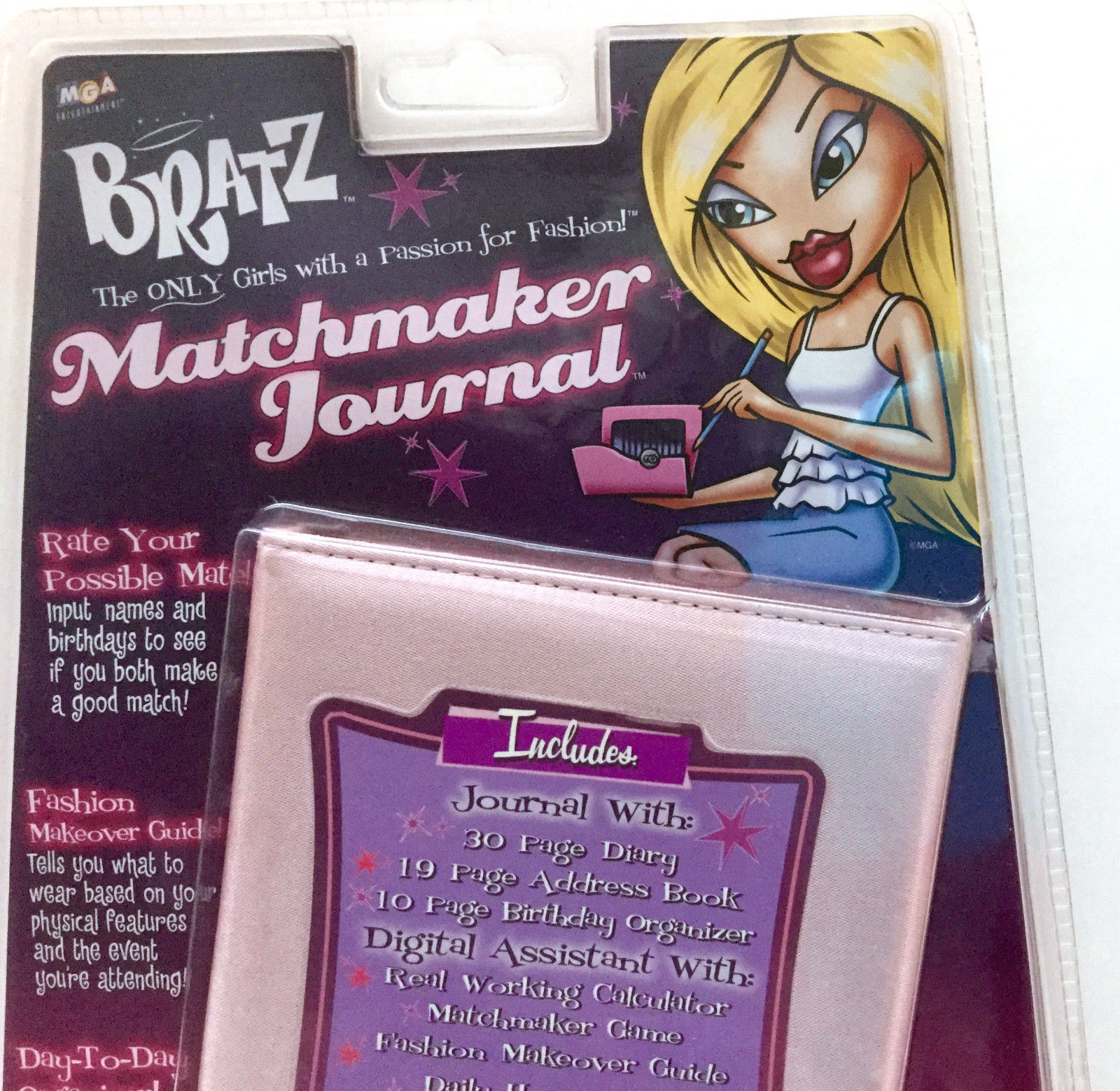 Bratz Matchmaker Journal and Digital Assistant Vintage Collectible VTG RARE NEW