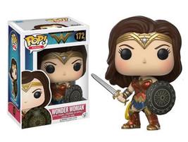 DC Comics Wonder Woman Movie Sword & Shield Vinyl POP! Figure Toy #172 F... - $12.55