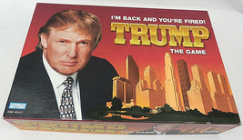Complete TRUMP The Game I'm Back & You're Fired Board Game Parker Brothe... - $50.00