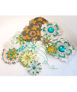 Paper embellishments flowers cool pk thumbtall