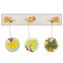 Grelucgo Halloween and Thanksgiving Holiday Table Runners, Fall Autumn Harvest D image 2