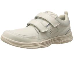 Rockport Men Walking Leather Casual Strap State O Motion Sneaker Shoe Beige - $54.21 CAD