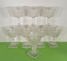 Imperial Glass CAPE COD Liquor Cocktail Goblet (s) LOT OF 8 Stems Small ... - $29.65