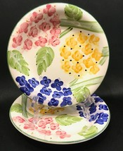 """Hydrangea Garden 8"""" Soup Cereal Bowls Set of 2 Tabletops Unlimited - $14.99"""