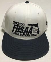 Florida High School Hat FHSAA Baseball Finals 2001 Medium Large Cap Tournament - $12.86