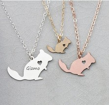 2018 New Arrival Personalized Women Copper Animal Jewelry Squirrel Charm Chinchi - $23.59