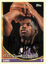 AC Green signed Phoenix Suns 1994-95 Topps Basketball Trading Card #227 - $15.00