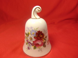 "4"" Tall, Bone China, Bell, by Royal Albert for The Danbury Mint. - $12.99"