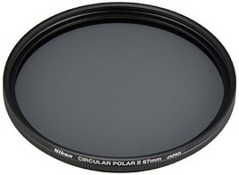 Nikon Circular Polarizing Filter II 67mm Ranging and photometry Thin and... - $134.33
