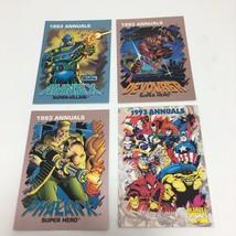 Trading Card 1993 Annuals Marvel Comics 4 Cards Annex Devourer Phalanx C... - $9.13
