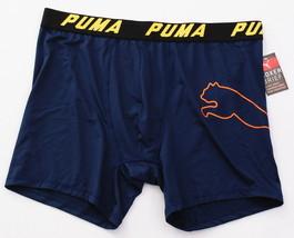Puma Dark Blue Lightweight Stretch Boxer Brief Men's NWT - $22.49