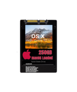 macOS Mac OS X 10.13 High Sierra Preloaded on 250GB Solid State Drive - $69.99