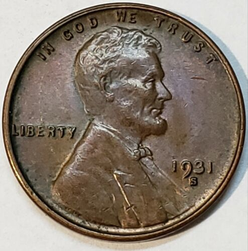 1931S Lincoln Wheat Cent Nice Looking Key Date Coin Lot V 101