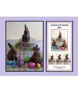 Chocolate Bunny Kit Purple Bow Kit easter sprin... - $19.20
