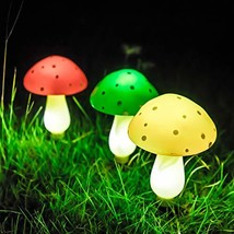 SUNGATH Solar Mushroom Lights Outdoor, Solar Powered Lights for Garden, ... - $25.65