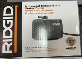 Universal Submersible Water Pump Ridgid Ac11306 - $27.42