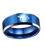 Nashville Predators NHL Hockey Sport Team Logo Tungsten Carbide Ring D2 - $32.99