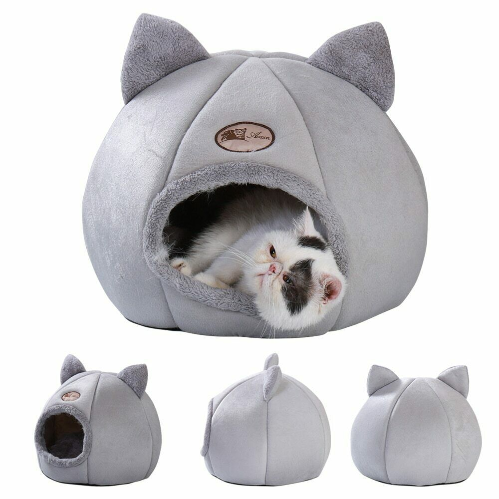 Primary image for Bed Pet Cat Warm Dog House Winter Pet Puppy Kitten Sleeping Beds Kennel Mats