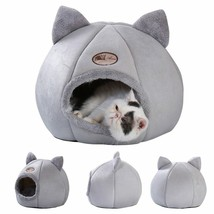 Bed Pet Cat Warm Dog House Winter Pet Puppy Kitten Sleeping Beds Kennel ... - $23.92+