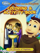 Brother Francis Born Into The Kingdom Coloring & Activity Book Children'... - $8.20