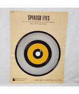Spanish Eyes Sheet Music 1965 Bert Kaempfert - $10.26
