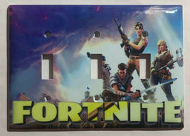 Fortnite Games Light Switch Power Outlet wall Cover Plate Home Decor image 6
