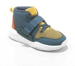 Cat & Jack Jungen Kleinkind Blau Chauncey Haken & Schlaufe Slip-On Sneakers Nwt