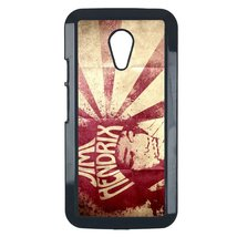 Jimi Hendrix Motorola Moto G case Customized premium plastic phone case,... - $10.88