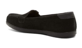 Sperry Womens Coil Mia Suede Black Slip-On Flat Boat Loafers Shoes 10W STS99652 image 2