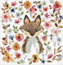 """Design Works Counted Cross Stitch Kit 10""""X10""""-Fox (14 Count) - $28.49"""