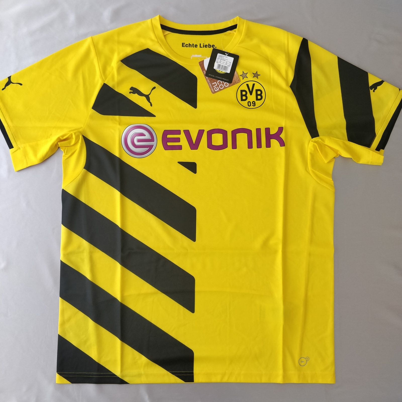 Primary image for Borussia Dortmund 2014/15 Home Jersey Fans Version %100 Original