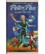 Peter Pan  (VHS/1989/Clamshell) Mary Martin Free USA Shipping - $3.75