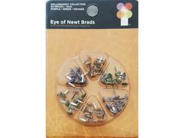 Imaginisce Halloween Collection Eye of Newt Brads, 5mm, 3 Colors #000725