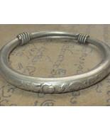 Holy Real Magic Silver Dragon Bracelet China Laos So Powerful Thai Buddh... - $14.99