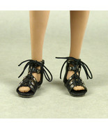 1/6 Scale Phicen, TBLeague, Nouveau Toys - Female Black Gladiator Sandal... - $18.32