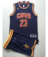Men's Cleveland Cavaliers #23 LeBron James basketball jersey suit blue.jpg - $45.99