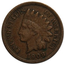 1908S Indian Head Penny / Cent Coin Lot# A 2209
