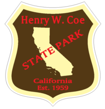 Henry W. Coe State Park Sticker R6667 California  - $1.45+